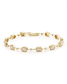 Bloomingdale's - Diamond Geometric Bracelet in 14K Yellow Gold, .33 ct. t.w. - 100% Exclusive