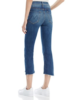 MOTHER - Insider Crop Step Fray Jeans in Not Rough Enough