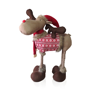 Bloomingdale's Christmas Reindeer Figurine, Large - 100% Exclusive