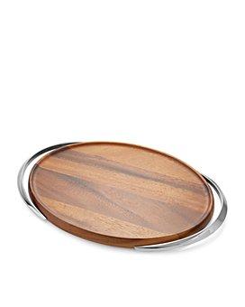 Nambé - Luna Handled Tray - 100% Exclusive