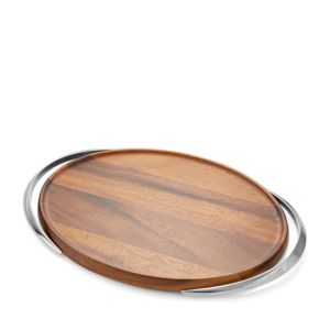 Nambe Luna Handled Tray - 100% Exclusive