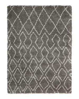 Calvin Klein Riad Rug - Diamonds & Spades, 7'10 x 9'10