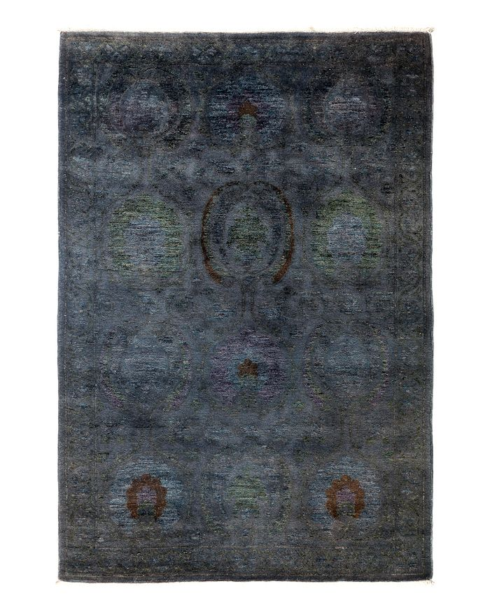 "Solo Rugs - Vibrance Overdyed Area Rug, 4'1"" x 6'5"""