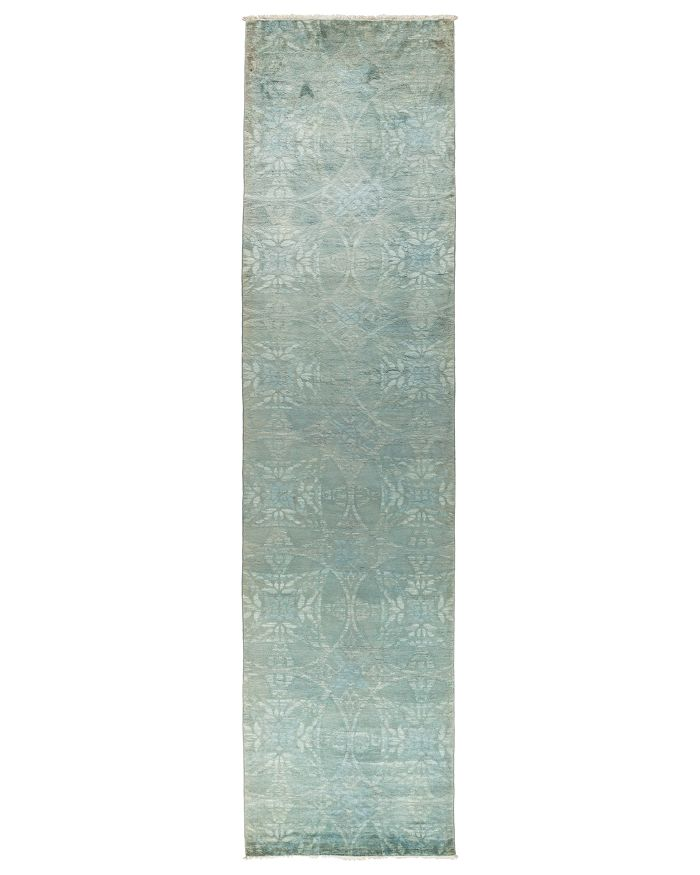 "Solo Rugs - Vibrance Overdyed Area Rug, 3'2"" x 14'"