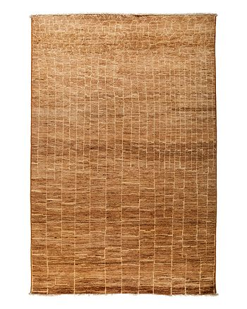 """Solo Rugs - Moroccan Area Rug - Brown Variegated Brick, 6' x 8'10"""""""