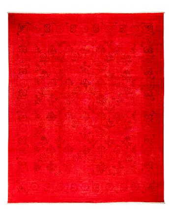 """Solo Rugs - Vibrance Overdyed Area Rug, 8' x 9'8"""""""