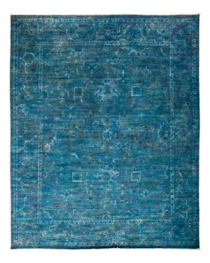 Solo Rugs Vibrance Overdyed Area Rug, 8'2 x 9'10