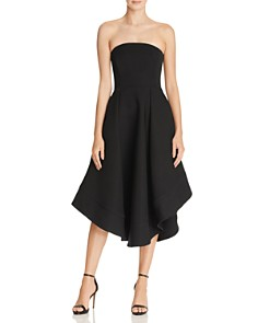 C/MEO Collective Strapless Making Waves Dress - 100% Exclusive - Bloomingdale's_0