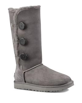 UGG® - Women's Bailey Button Triplet Sheepskin Mid Calf Boots