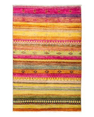 Solo Rugs Tribal Oriental Area Rug, 4'1 x 6'4