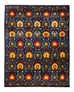 Solo Rugs Suzani Oriental Area Rug, 9'1 x 11'5