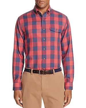 Vineyard Vines Bayview Boggs Check Crosby Slim Fit Button-Down Shirt