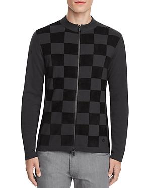 Armani Collezioni Check Sweater