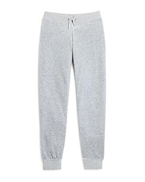 Juicy Couture Black Label Girls' Zuma Velour Jogger Pants, Little Kid - 100% Exclusive