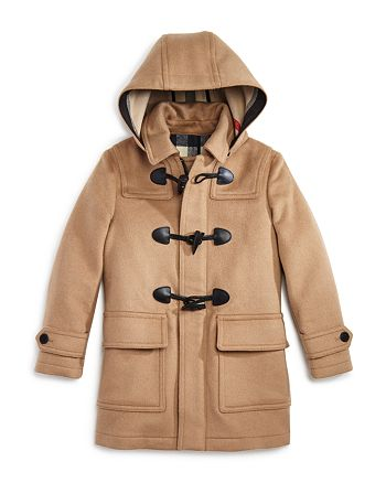 Burberry - Boys' Burwood Toggle Coat - Little Kid, Big Kid