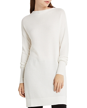 BCBGeneration Ribbed Cocoon Tunic Sweater