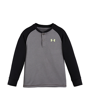 Under Armour Boys' Waffle Henley Tee - Sizes 4-7