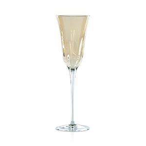 Vietri Optical Champagne Flute