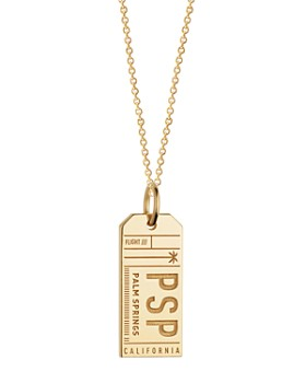 Jet Set Candy - PSP Palm Springs California Luggage Tag Charm