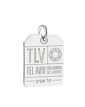 Tlv Tel Aviv Luggage Tag Charm
