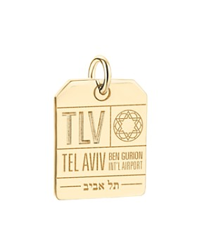Jet Set Candy - TLV Tel Aviv Luggage Tag Charm