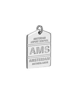 Jet Set Candy - AMS Amsterdam Luggage Tag Charm