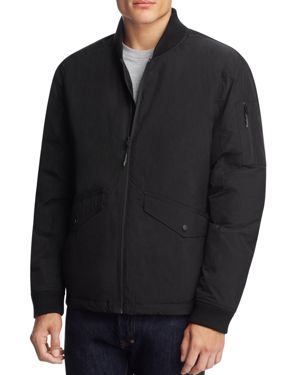 Hawke & Co with Burkman Bros Bomber Jacket