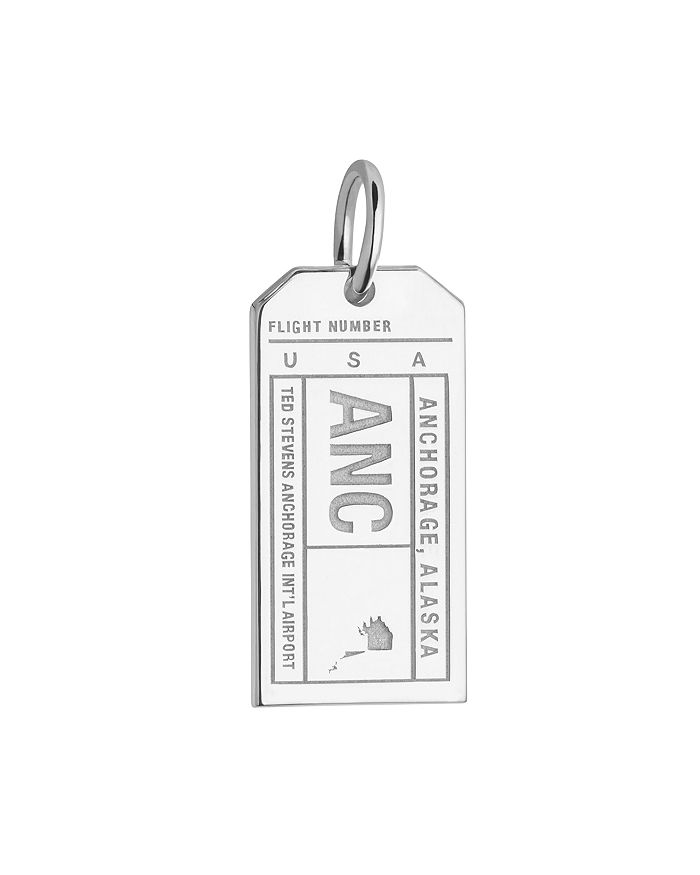 Jet Set Candy - Anchorage, Alaska ANC Luggage Tag Charm