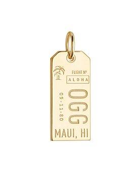 Jet Set Candy - Maui, Hawaii OGG Luggage Tag Charm