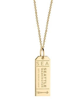 Jet Set Candy - SEA Seattle Luggage Tag Charm