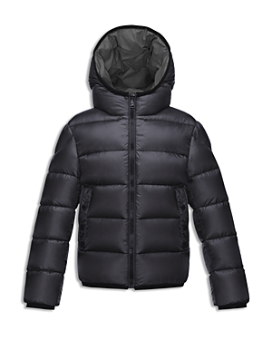 Moncler Boys' Hooded Down Puffer Jacket - Little Kid