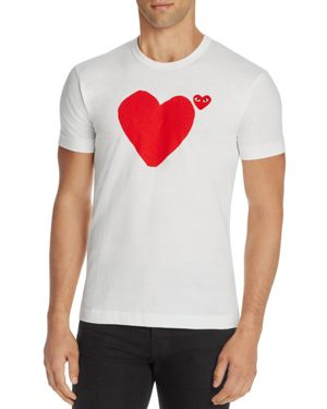 Comme Des Garcons Play Heart Graphic Tee thumbnail