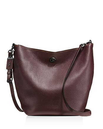 Coach Duffle Shoulder Bag In Glovetanned Pebble Leather
