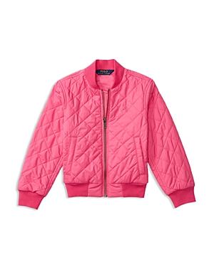 Ralph Lauren Childrenswear Girls' Baseball Jacket - Sizes 2-6X
