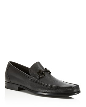 df5604296b Salvatore Ferragamo - Men s Grandioso Calfskin Leather Loafers with Double  Gancini Bit ...