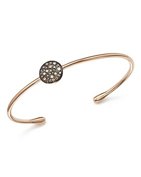 Pomellato - Sabbia Cuff Bracelet with Brown Diamonds in 18K Rose Gold