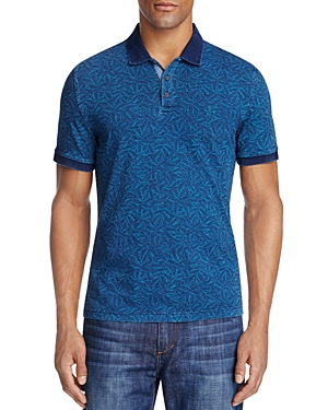 Original Penguin Leaf Print Slim Fit Polo Shirt