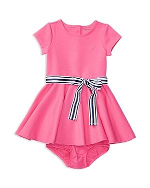 Ralph Lauren Childrenswear Infant Girls Ponte Party Dress  Sizes 324 Months