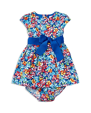 Ralph Lauren Childrenswear Girls' Floral Fit & Flare Dress - Baby