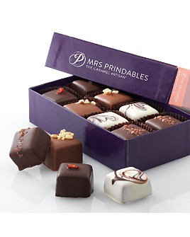 Mrs Prindables - Assorted Chocolate Covered Caramels, 8 Piece