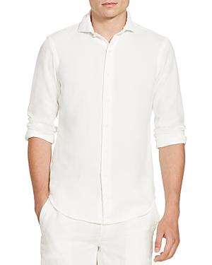 Polo Ralph Lauren Cotton Pique Classic Fit Button-Down Shirt