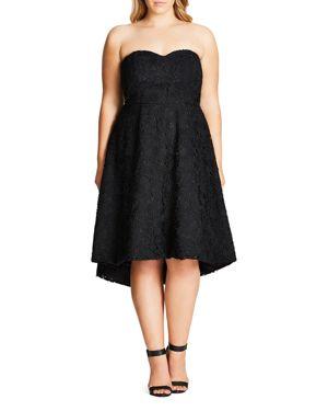 City Chic Clara Convertible Lace Dress