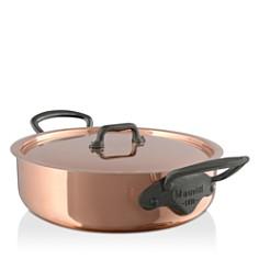 Mauviel - M'150c2 Copper 5.7-Quart Rondeau and Lid