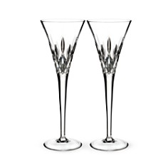 Waterford Lismore Pops Clear Toasting Flute, Set of 2 - Bloomingdale's_0