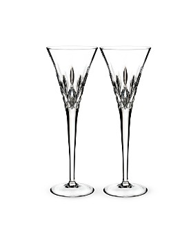 Waterford - Lismore Pops Clear Toasting Flute, Set of 2