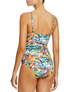Paul Smith - Watercolor Balconette One Piece Swimsuit
