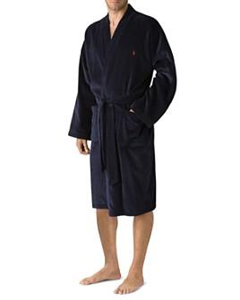 Polo Ralph Lauren - Polo Ralph Lauren Men's Kimono Cotton Velour Robe