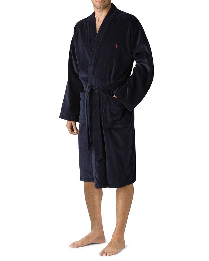 Polo Ralph Lauren - Men's Kimono Cotton Velour Robe