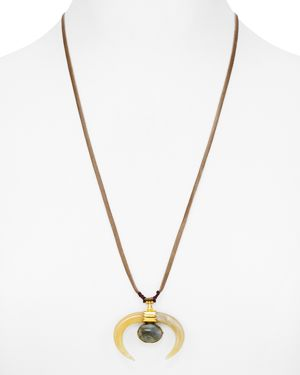 Chan Luu Labradorite Pendant Necklace, 52