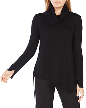 Bcbgmaxazria Waris Merino-Wool Cowl Neck Sweater at Bloomingdale's